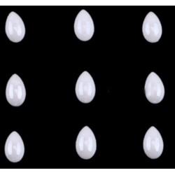 Perle céramique blanche HOTFIX