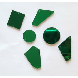 Miroirs à coudre Vert