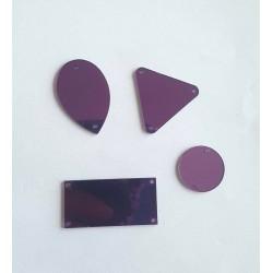 Miroirs à coudre Violet