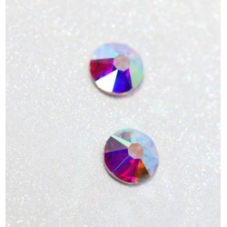 Strass crystal AB 16 facettes HOTFIX