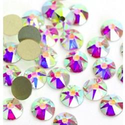 Strass crystal AB 16 facettes NON Hotfix