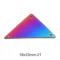 Miroirs à coudre multicolor P21 18X33